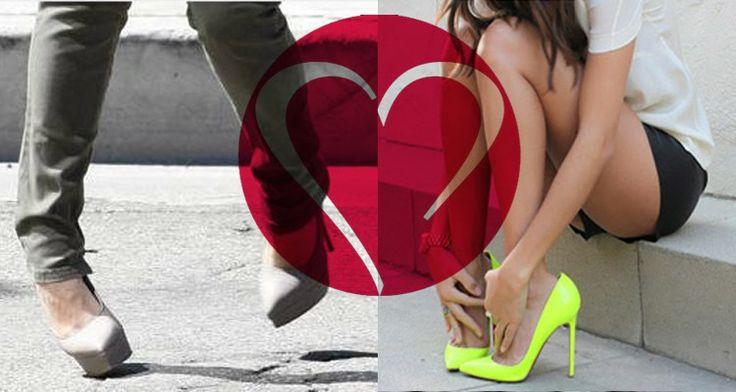 haat liefde hoge hakken