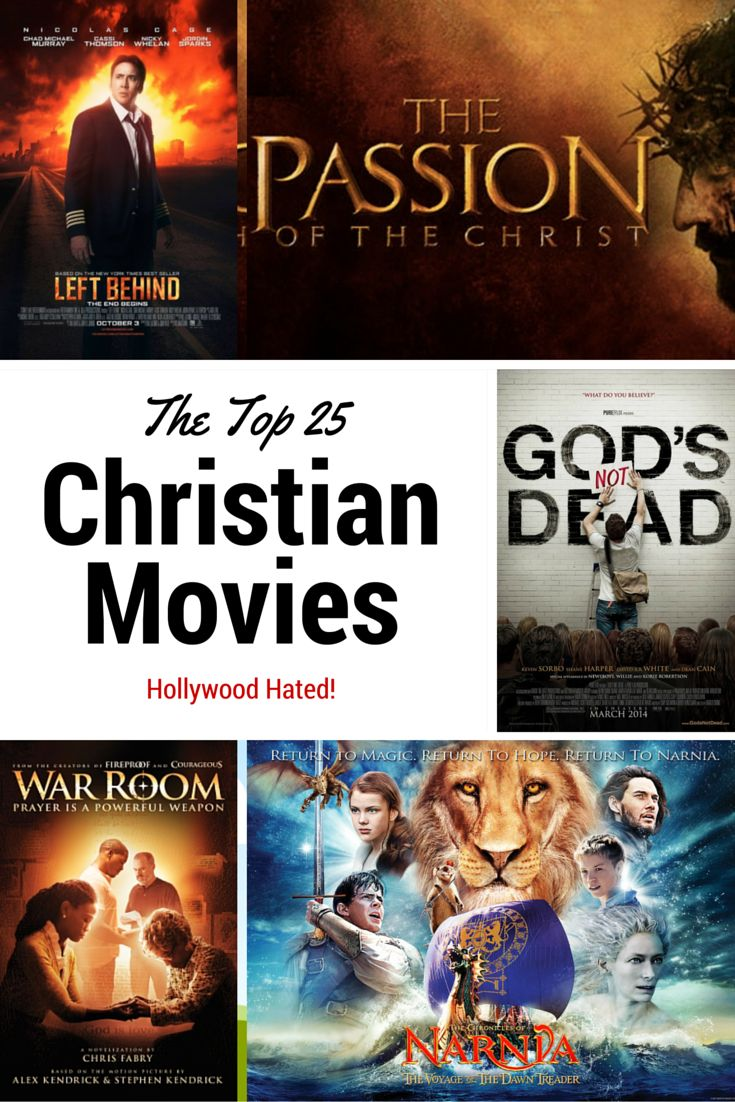 Here is the list of the 25 biggest grossing Christian movies that Hollywood critics hated. Read excerpts of their reviews and compare it to the ratings the fans gave of these movies!