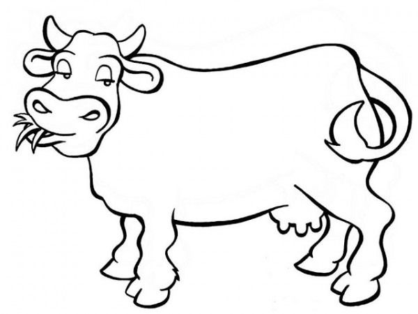 Dibujos Animales Para Colorear E Imprimir Cow Coloring Pages Animal Templates Horse Coloring Pages
