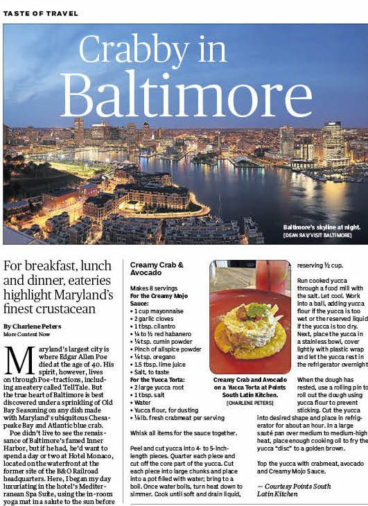 163 best food articles recipes images on pinterest food charlene peters siptripper writes about her recent trip to baltimore and shares baltimorepeter otoolefood articlesspacesavocadorecipes for forumfinder Gallery