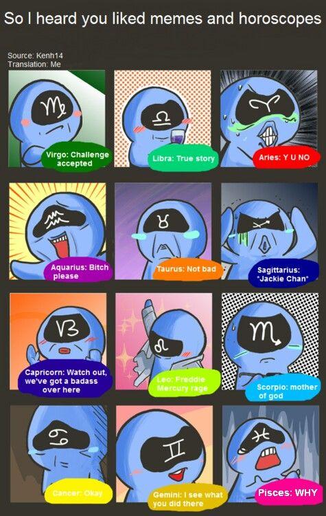 Funny Memes For Zodiac Signs : Horoscope meme d astrology pinterest horoscopes