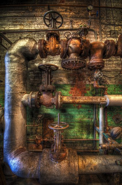 In the Old Boiler Room | Flickr - Photo Sharing! Beauty in Industry