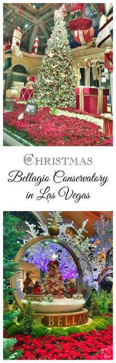 Bellagio Conservatory and Botanical Gardens at Christmas