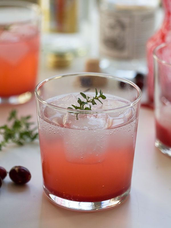 Cranberry Thyme Gin and Tonic. | 17 Creative Gin And Tonic Cocktails