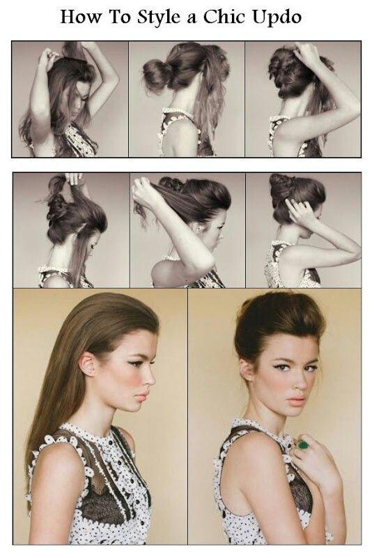 68 best hair images on pinterest cute hairstyles gorgeous hair diy updo or down love it solutioingenieria Gallery