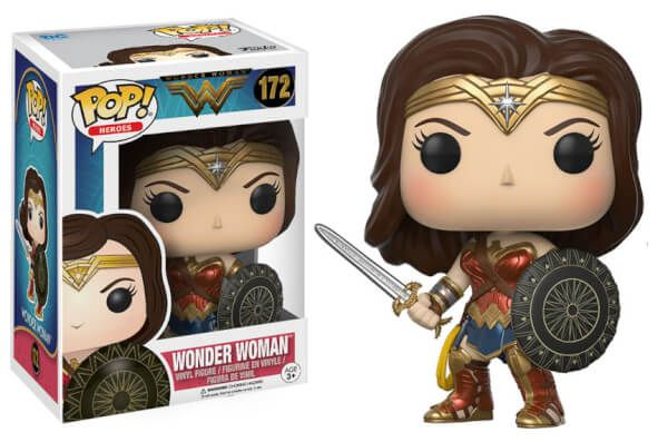 DC Wonder Woman Pop! Vinyl Figure - finally got one of these little beauties! Makes me smile x