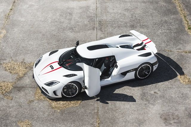 Koenigsegg Agera R Top Speed View