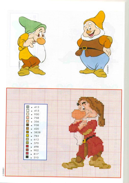 sandylandya@outlook.es Snow White Cross Stitch