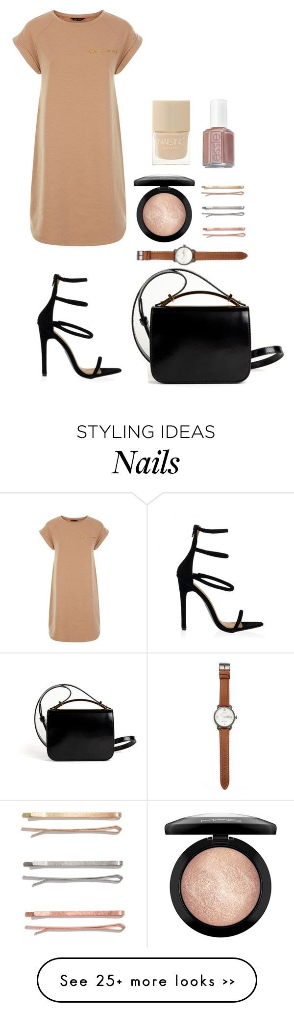 """""""Two"""" by honeyat on Polyvore featuring Givenchy, Madewell, MAC Cosmetics, Jack Spade, Nails Inc. and Essie"""