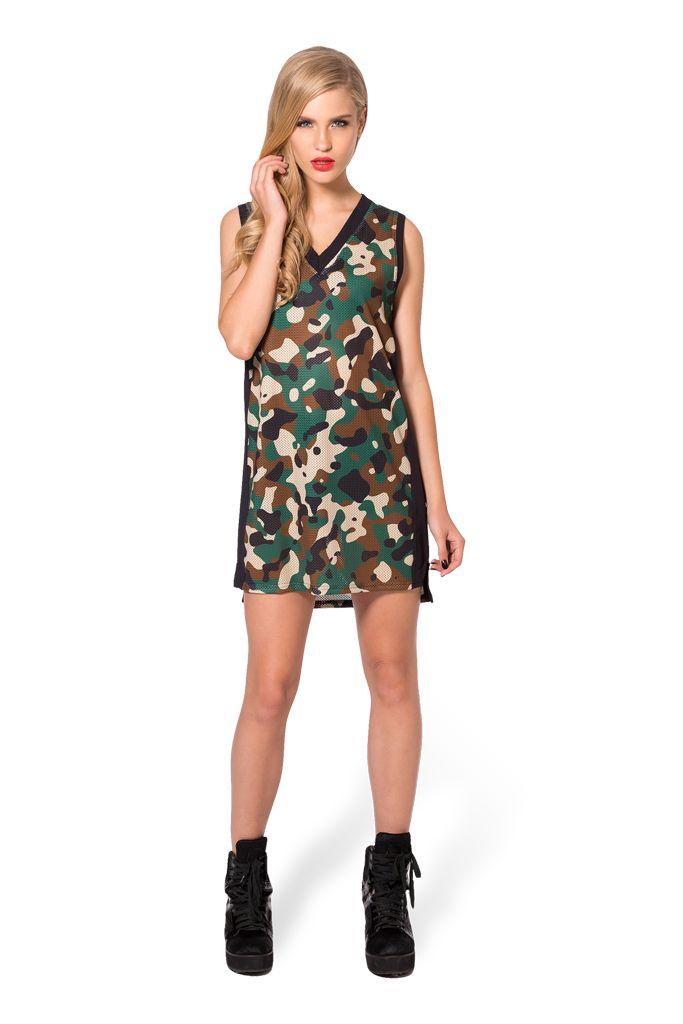 Commando Shooter Dress by Black Milk Clothing $85AUD