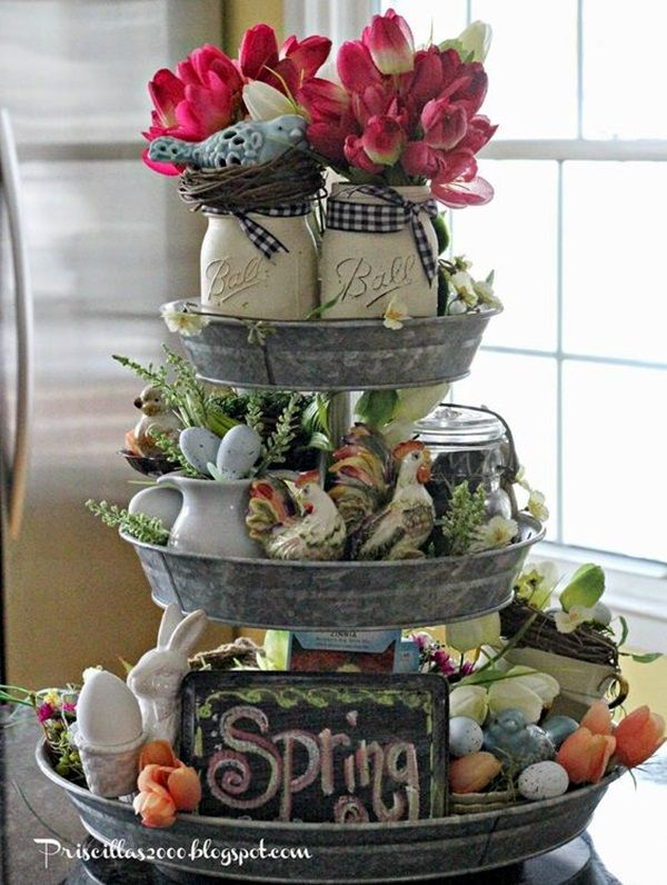 50 creative easter decorations ideas to feel the occasion - Easter Decorating Ideas