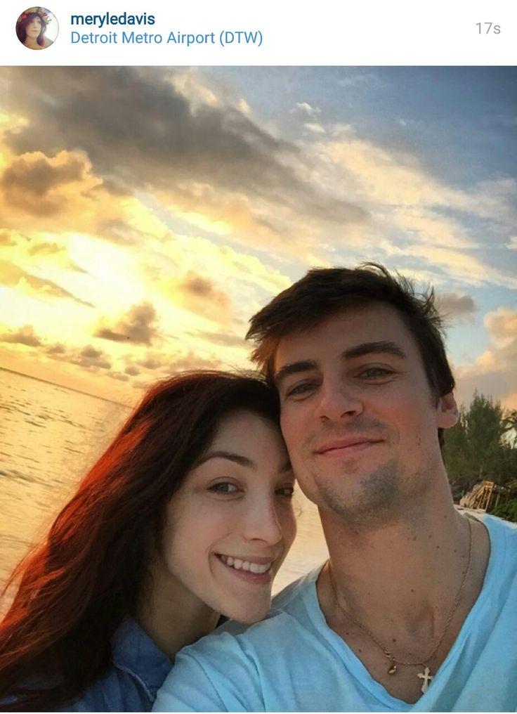 Meryl Davis And Fianc 233 Fedor Andreev 2016 Meryl Meryl