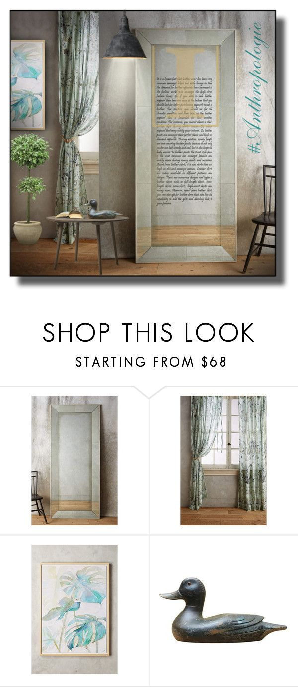 """""""Sin título #491"""" by sally-simpson ❤ liked on Polyvore featuring interior, interiors, interior design, home, home decor, interior decorating, Anthropologie, Sara Brown and anthropologie"""