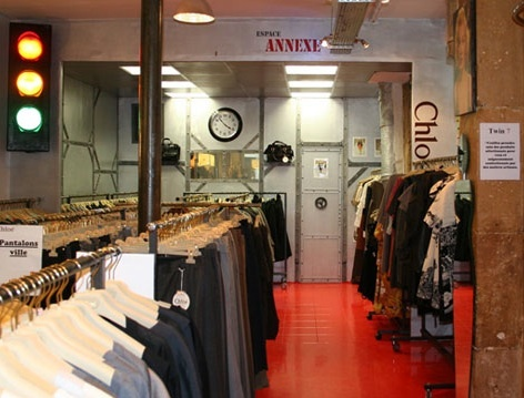 Chloe Outlet:  5-7 rue Jean-Pierre Timbaud  75011 Paris  Metro: Oberkampf    Note: They have bags, clothes, jeans, and SHOES. Shoes are probably the best deal, the rest can still be pricey.