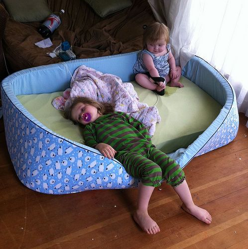 A Great Alternative for a Special Needs Bed  http://www.instructables.com/id/Foam-Nest-Bed/