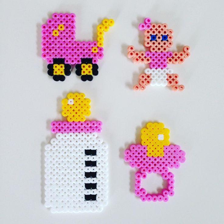 Baby stuff hama beads by _the_creative_girls_