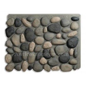 Brook River Rock Faux Rock Panels - Boulder Gray