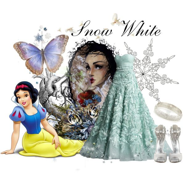 """""""Snow White"""" by aninhacp on Polyvore"""