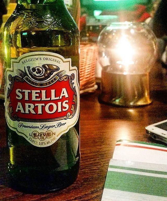 We serve a range of different beers #irishbar #irishpub #stockholm #bar #drinkporn #pub #sweden #stella #beer