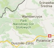 Mapa: Góry Stołowe