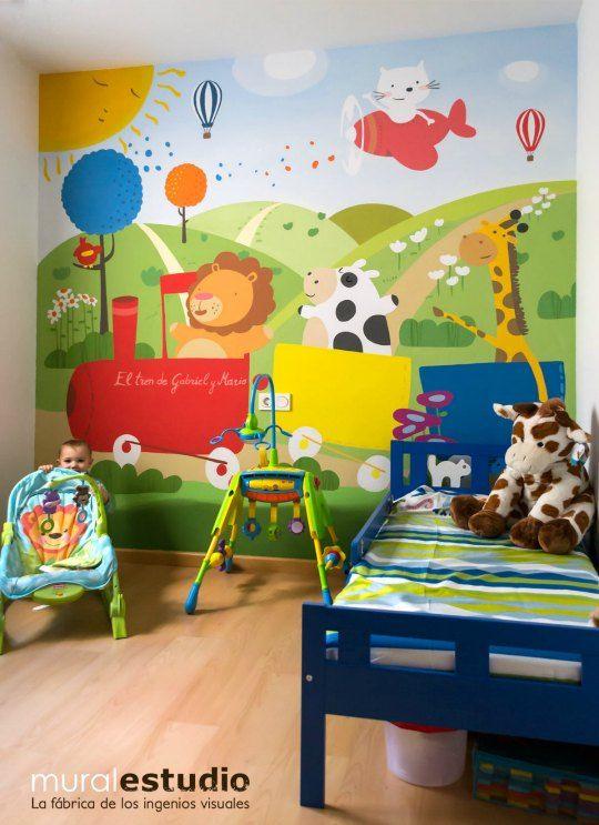 17 mejores ideas sobre Murales Pintados en Pinterest ...
