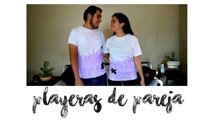 DIY SAN VALENTIN: PLAYERAS DE PAREJA