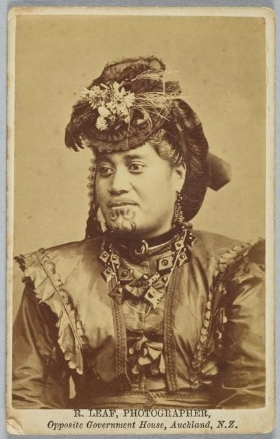 Queen Emma of the Thames gold fields, Auckland, NZ 1869-1876 - Nga Toi | Arts Te Papa