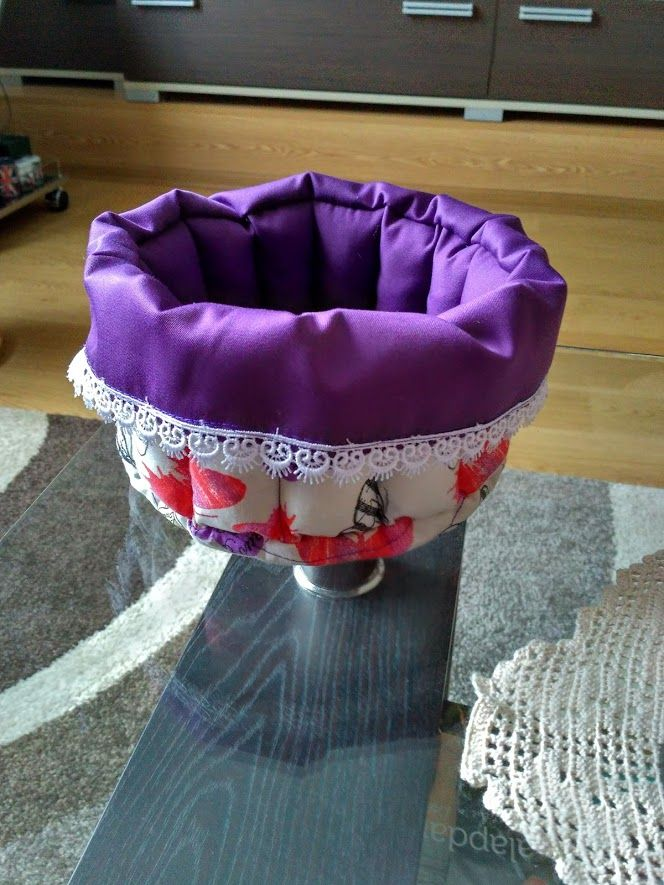 My first fabric basket