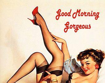 good morning sexy – Etsy