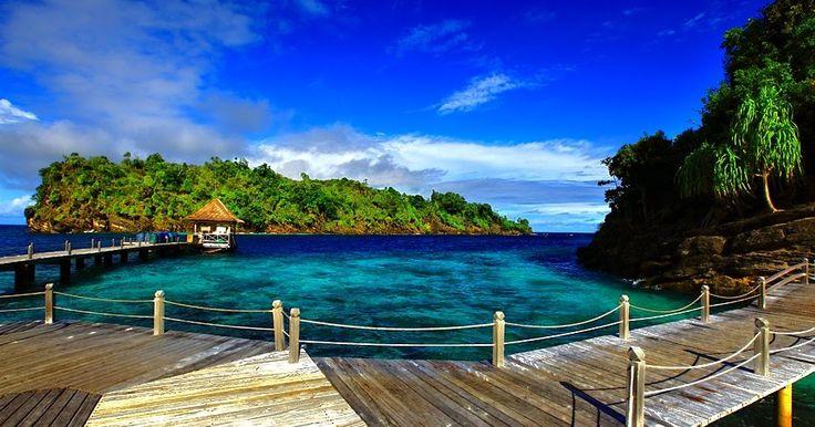 photo pemandangan alam luar negeri (Dengan gambar