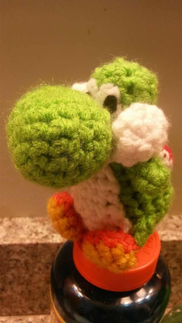 Amigurumi Yoshi Amiibo : 17 Best images about Video Game Characters(Crochet) on ...