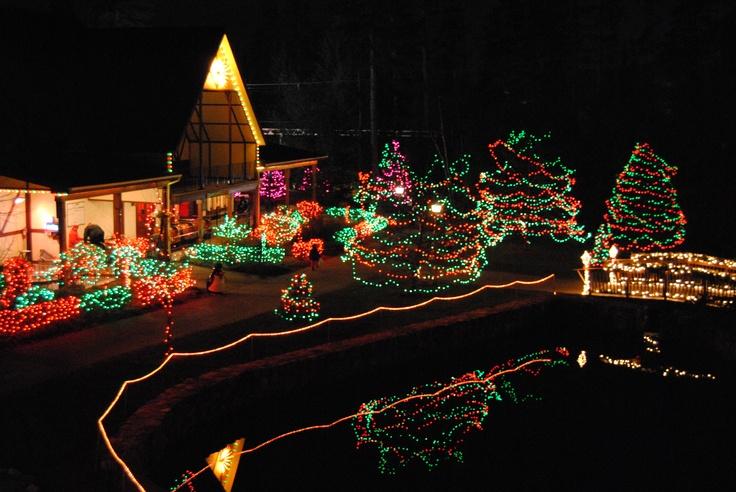 Christmastime at Santa's Village, Jefferson NH