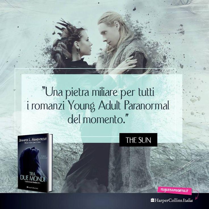 """Mitologia, paranormale, amore proibito, legame """"indotto"""", guerra e tanto altro...Girls state leggendo il romanzo Paranormal dell'anno? #TraDueMondi"""
