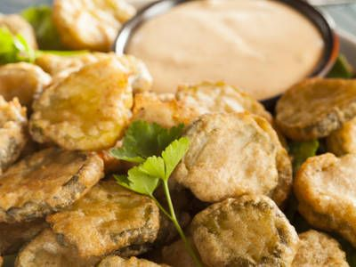 Just like your favorite Texas Roadhouse app, these fried pickles are delicious, not to mention easy to make yourself!