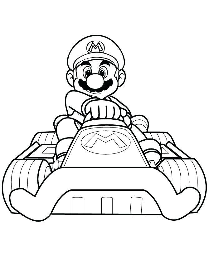 Coloriage De Splatoon Dessins Gratuits A Colorier Mario Kart