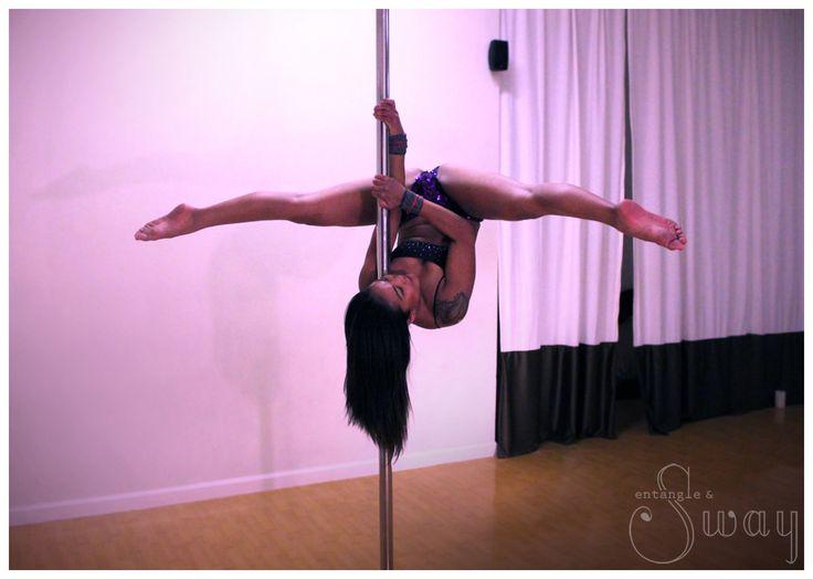 Twisted Grip Shoulder Mount @ Entangle & Sway Pole Dance Fitness Studio. San Francisco, CA
