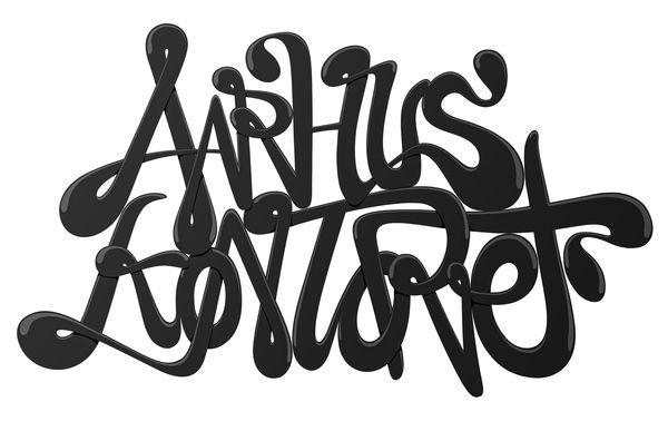 """AarhusKontoret """"signature"""" by Raymond Skaustein Johannessen, via Behance"""
