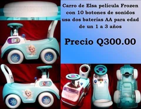 ��❄️#Carrito montable diseño de #Elsa de la película #Frozen con 10 botones de sonidos, usa dos baterías AA (no las incluye) para niñas de 1 a 3 años❄️�� ��Entrega gratuita en zona 6 de Mixco, c.c. san francisco, c,c,  sobre la San Juan hasta Peri Roosevelt o por mensajero con costo adicional de Q25.00�� ��️A departamentos por medio de Guatex previo deposito y pagando el envío ��️ http://misstagram.com/ipost/1551204237990687769/?code=BWG_Akrg_QZ