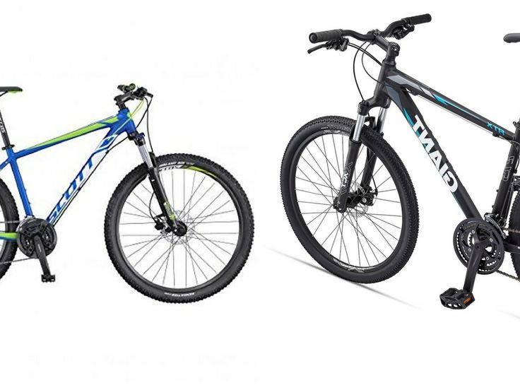 Battle of two best entry level mountain bikes