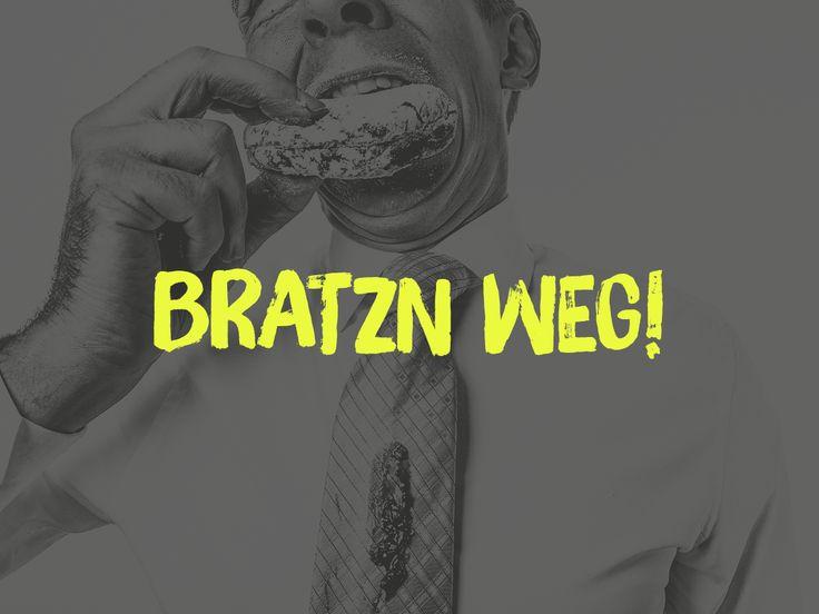 Makierts oan der eich imma es Essen weg isst… | Bayerische Sprichwörter zum Pinnen und Sammeln. Egal ob Wort, Spitzname, Spruch oder Sc…