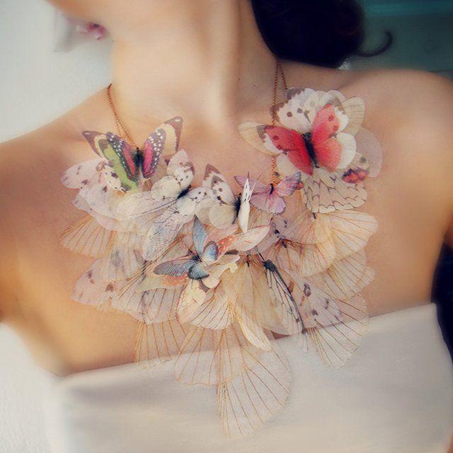 Fancy - Fluttery Butterfly Necklace