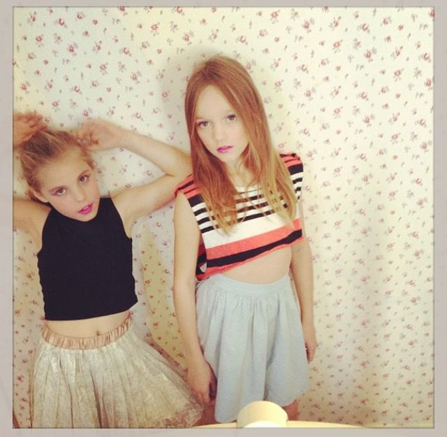 Daisy Tomlinson and a friend!(:   The Tomlinsons ...