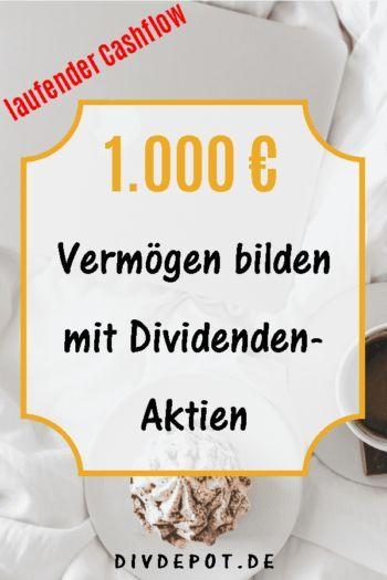 So startest du mit 1.000 Euro den Vermögensaufbau mit Dividenden – MamaMoneyProject