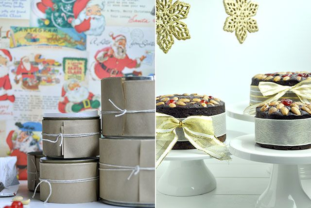Chocolate Port and Prune Christmas Cake recipe from Fisher & Paykel Social Kitchen