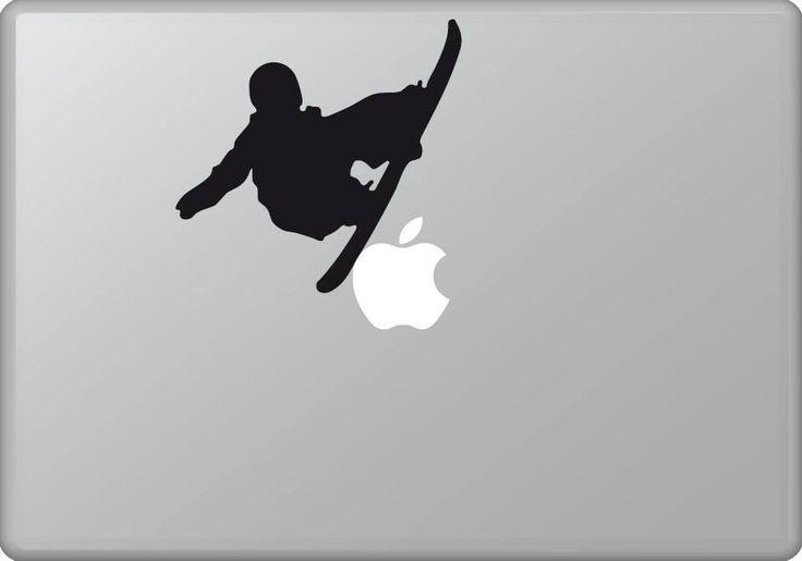 Skateboarder 1 | MacBook sticker | #pasteit #sticker #stickers #macbook #apple #blackandwhite #art #drawing #custom #customize #diy #decoration #illustration #design #sport #sports #extremesport #extremesports #freestyle #freestyler #wintersport #wintersports #snowboard #snowboarder