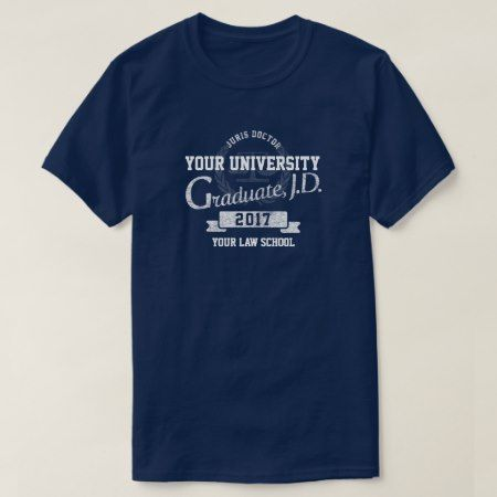Lawyer Law School Graduate Graduation T-Shirt - click to get yours right now!
