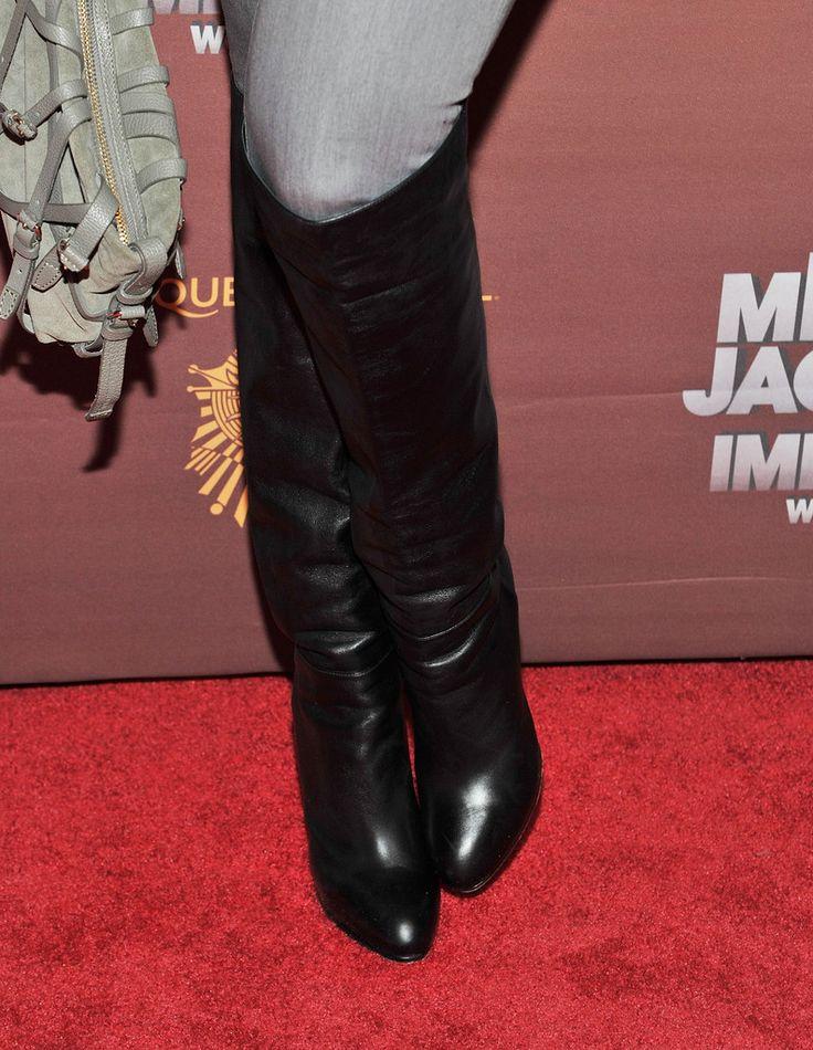 Tyra Banks - Michael Jackson: The Immortal World Tour  blackwomeninboots.blogspot.com