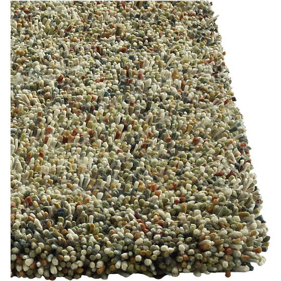 Paolo Multi Shag Rug In All Rugs Crate And Barrel 6x9