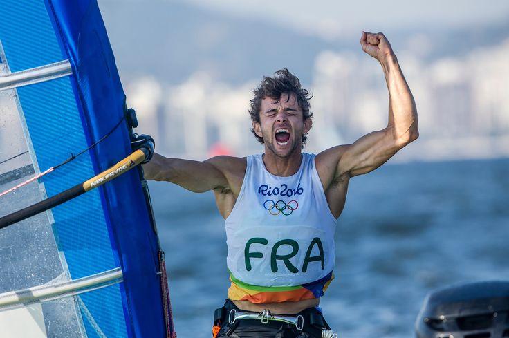 Rio 2016 - sailing - Pierre Le Coq (France) a très bien géré sa course  (1200×798)