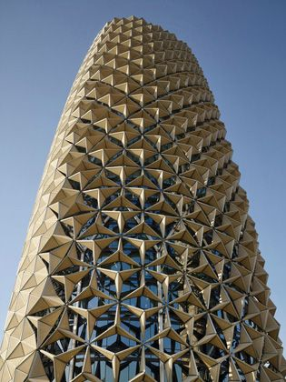 Dynamic shading device for Al Bahr Towers | Al Bahr Towers_1-2014021413923544203356 | ODS